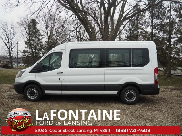 2018 Transit 350 Med Roof, Passenger Wagon #18F321 - photo 6