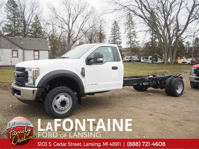 2018 F-550 Regular Cab DRW 4x2,  Cab Chassis #18F348 - photo 1