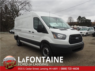 2018 Transit 250 Med Roof 4x2,  Empty Cargo Van #18F401 - photo 3