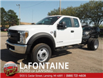 2018 F-550 Super Cab DRW 4x4,  Cab Chassis #18F407 - photo 1