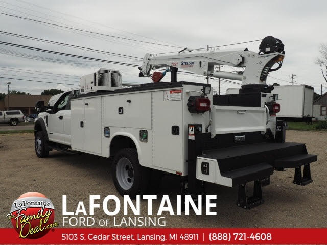 2018 F-550 Super Cab DRW 4x4,  Knapheide Mechanics Body #18F466 - photo 5