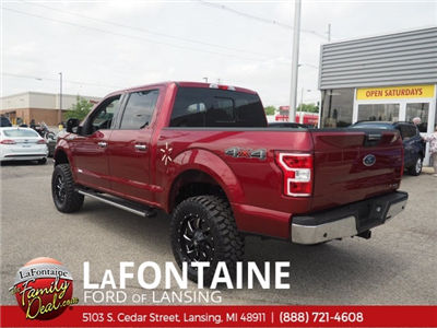 2018 F-150 SuperCrew Cab 4x4,  Pickup #18F514 - photo 2