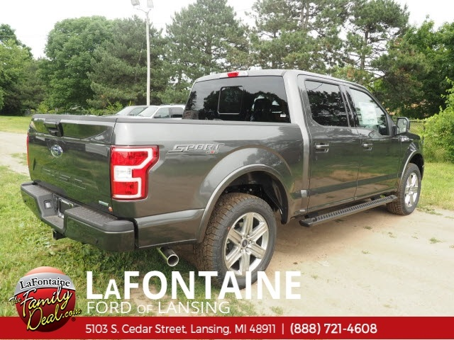 2018 F-150 SuperCrew Cab 4x4,  Pickup #18F580 - photo 2