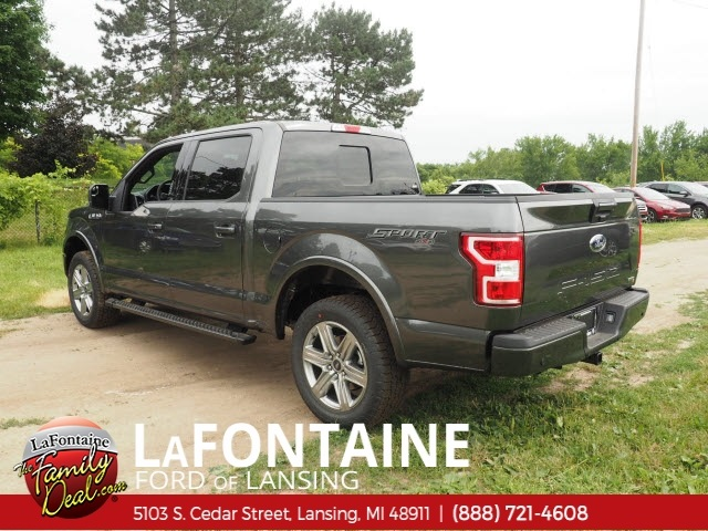2018 F-150 SuperCrew Cab 4x4,  Pickup #18F580 - photo 5