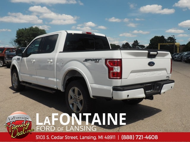 2018 F-150 SuperCrew Cab 4x4,  Pickup #18F582 - photo 4