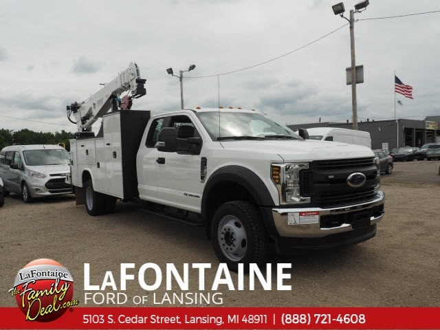 2018 F-550 Super Cab DRW 4x4,  Knapheide Mechanics Body #18F637 - photo 3