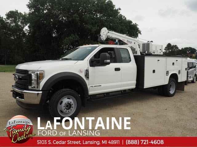 2018 F-550 Super Cab DRW 4x4,  Knapheide KMT Mechanics Body #18F637 - photo 1