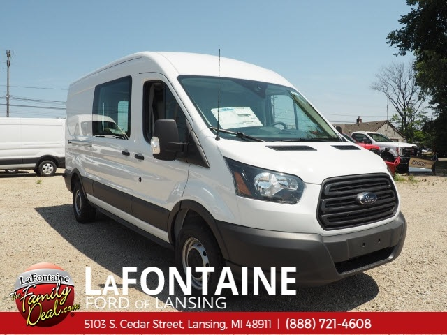 2018 Transit 350 Med Roof 4x2,  Empty Cargo Van #18F663 - photo 3