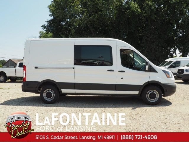 2018 Transit 350 Med Roof 4x2,  Empty Cargo Van #18F663 - photo 4