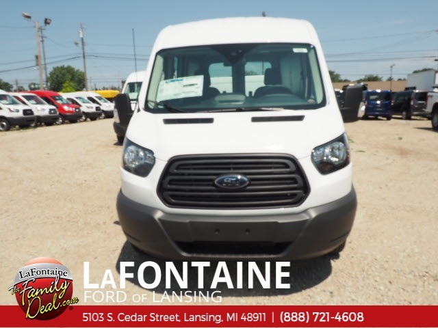 2018 Transit 350 Med Roof 4x2,  Empty Cargo Van #18F663 - photo 9