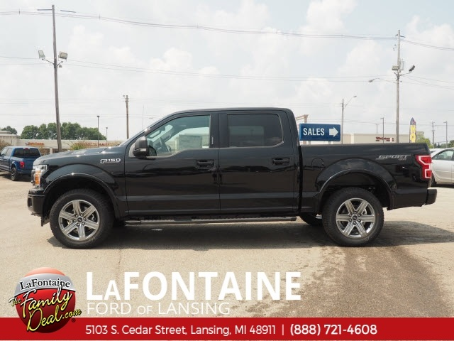 2018 F-150 SuperCrew Cab 4x4,  Pickup #18F683 - photo 5