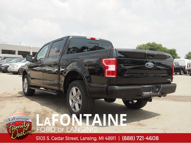 2018 F-150 SuperCrew Cab 4x4,  Pickup #18F683 - photo 2