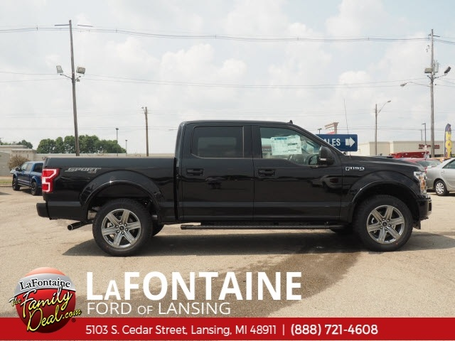 2018 F-150 SuperCrew Cab 4x4,  Pickup #18F683 - photo 8