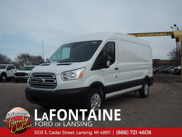 2019 Transit 250 Med Roof 4x2,  Empty Cargo Van #19F152 - photo 4
