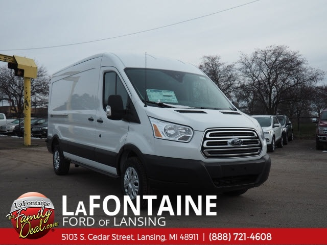 2019 Transit 250 Med Roof 4x2,  Empty Cargo Van #19F233 - photo 3