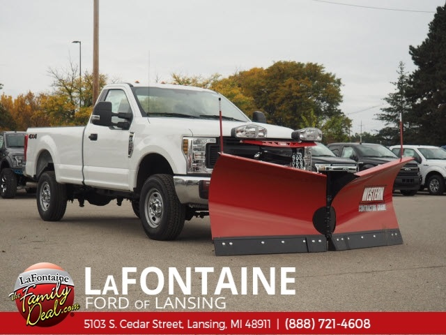 2019 F-250 Regular Cab 4x4,  Western Snowplow Pickup #19F44 - photo 3