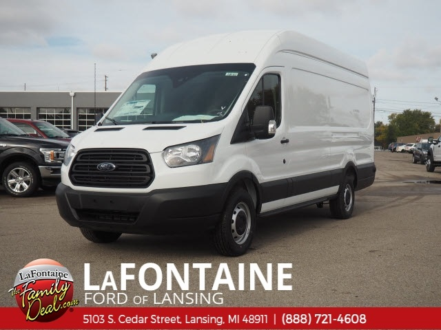 2019 Transit 350 High Roof 4x2,  Empty Cargo Van #19F84 - photo 4