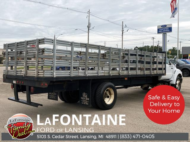 2009 Ford F-650 Regular Cab DRW 4x2, Stake Bed #1F0381P - photo 1