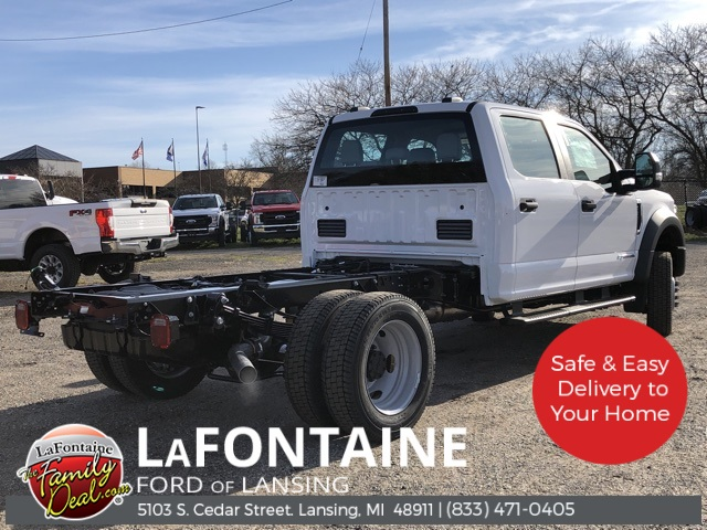 2020 Ford F-550 Crew Cab DRW 4x4, Cab Chassis #20FC726 - photo 1