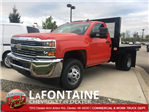2017 Silverado 3500 Regular Cab 4x4, Platform Body #17C1387 - photo 1