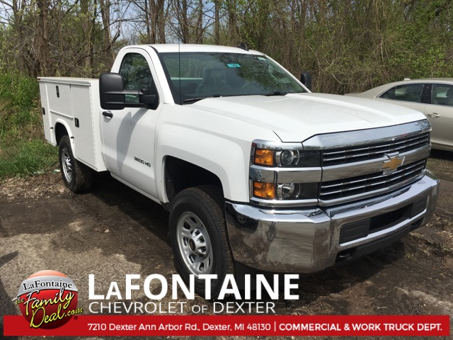 2017 Silverado 3500 Regular Cab 4x4, Service Body #17C1460 - photo 3