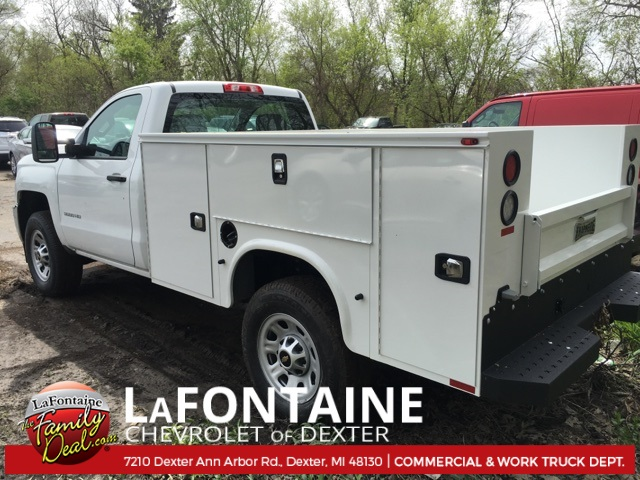 2017 Silverado 3500 Regular Cab 4x4, Service Body #17C1460 - photo 2