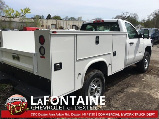 2017 Silverado 3500 Regular Cab 4x4, Service Body #17C1460 - photo 10