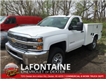 2017 Silverado 3500 Regular Cab 4x4, Service Body #17C1460 - photo 1
