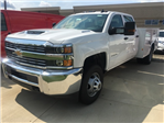 2017 Silverado 3500 Crew Cab, Service Body #17C2138 - photo 1