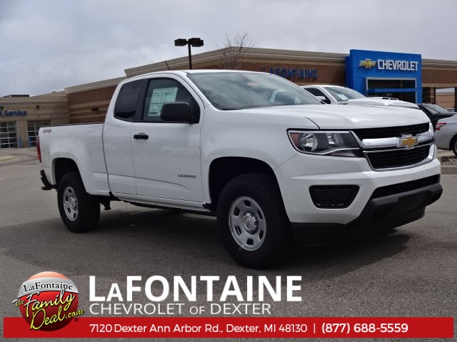 2018 Colorado Extended Cab 4x4, Pickup #18C1121 - photo 1