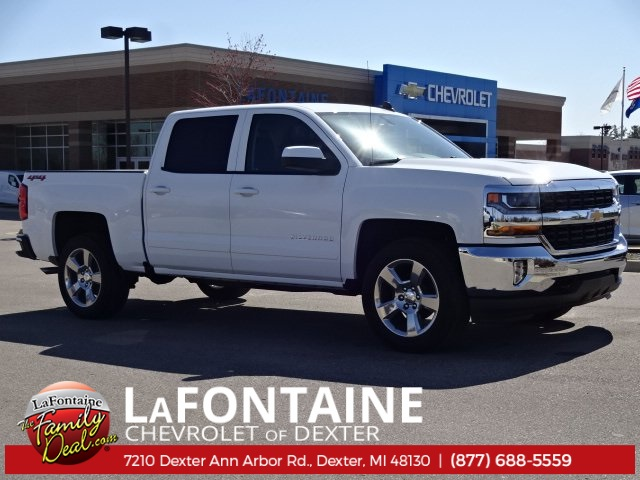 2018 Silverado 1500 Crew Cab 4x4,  Pickup #18C1293 - photo 1