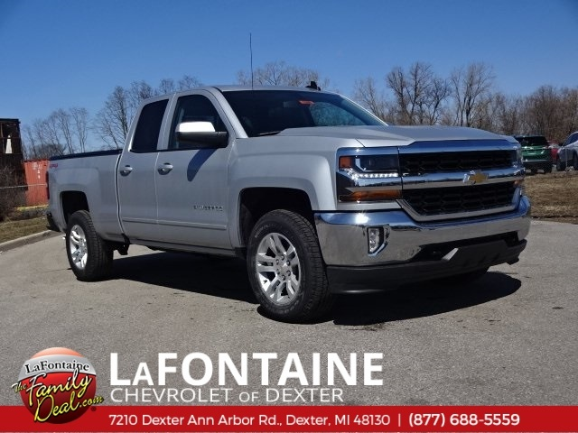 2018 Silverado 1500 Double Cab 4x4,  Pickup #18C1398 - photo 1
