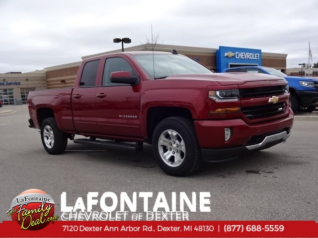 2018 Silverado 1500 Double Cab 4x4,  Pickup #18C1423 - photo 1