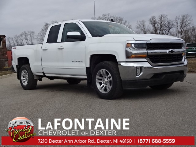2018 Silverado 1500 Double Cab 4x4, Pickup #18C1466 - photo 1