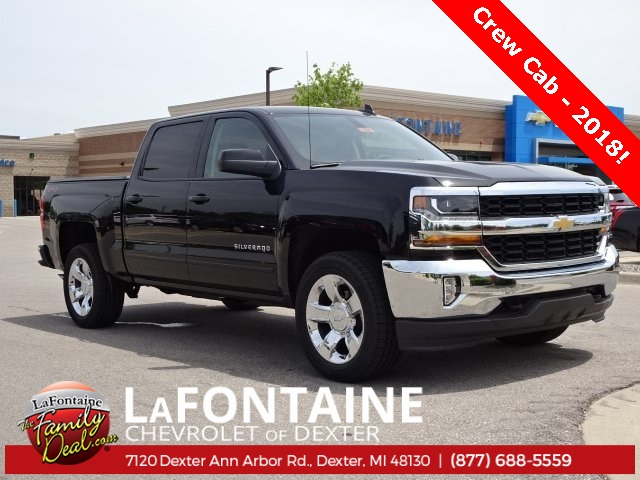 2018 Silverado 1500 Crew Cab 4x4,  Pickup #18C1690 - photo 12