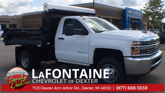 2018 Silverado 3500 Regular Cab DRW 4x4,  Knapheide Rigid Side Dump Body #18C2129 - photo 1