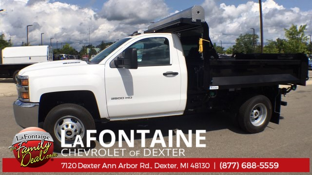 2018 Silverado 3500 Regular Cab DRW 4x4,  Knapheide Rigid Side Dump Body #18C2129 - photo 6