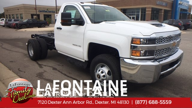 2019 Silverado 3500 Regular Cab DRW 4x4,  Cab Chassis #19C121 - photo 1