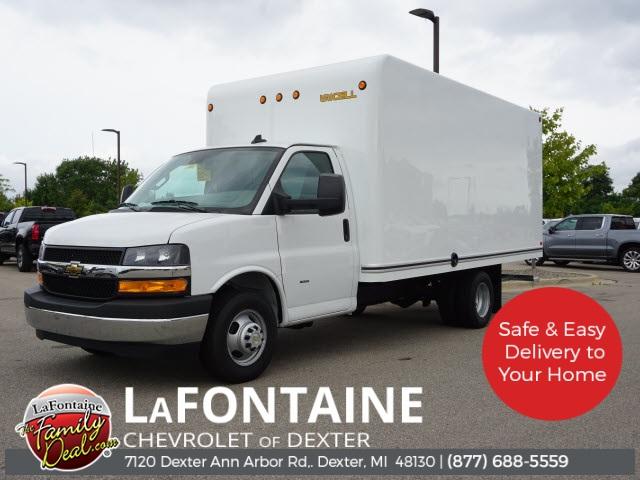 2019 Chevrolet Express 3500 4x2, Unicell Cutaway Van #19C2586 - photo 1