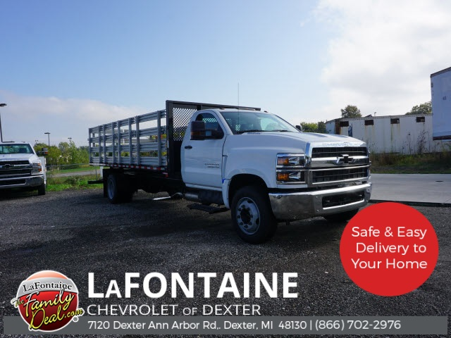 2019 Chevrolet Silverado 5500 Regular Cab DRW 4x2, Morgan Stake Bed #19C2602 - photo 1