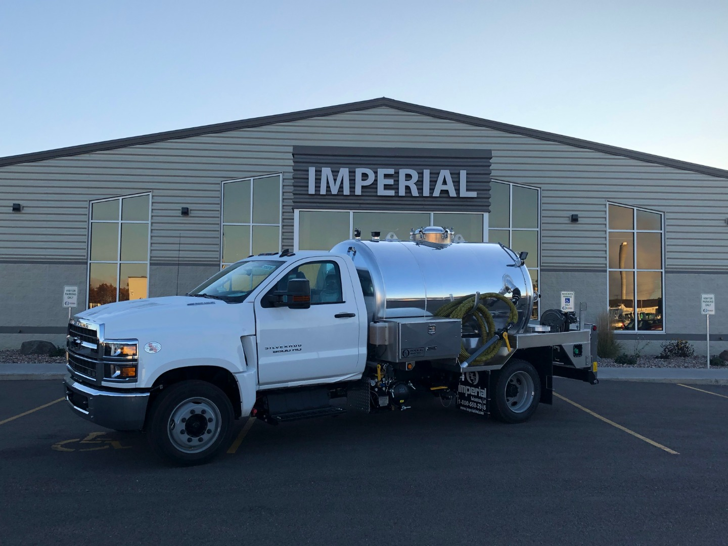 2019 Silverado Medium Duty Regular Cab DRW 4x2, Imperial Industries Inc. Other/Specialty #19C2638 - photo 1