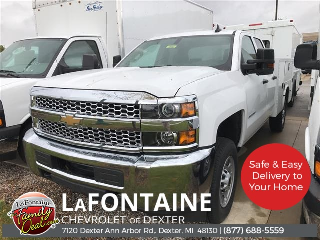 2019 Chevrolet Silverado 2500 Double Cab 4x2, Knapheide Service Body #19C2662 - photo 1