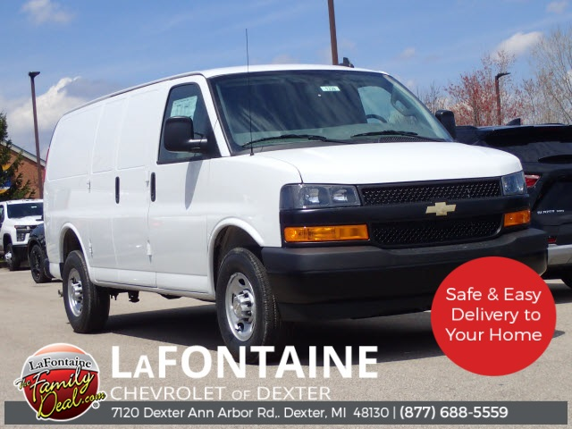 2020 Chevrolet Express 2500 4x2, Adrian Steel Upfitted Cargo Van #20C1339 - photo 1
