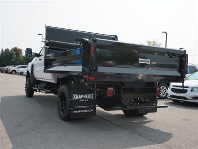2020 Silverado 5500 Crew Cab DRW 4x4,  Knapheide Rigid Side Dump Body #20C1767 - photo 9
