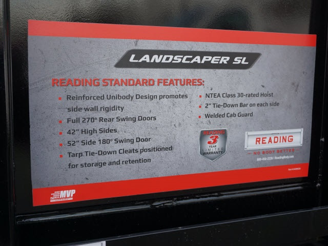 2020 Silverado Medium Duty Regular Cab DRW 4x4,  Reading Landscaper SL Landscape Dump #20C2338 - photo 14