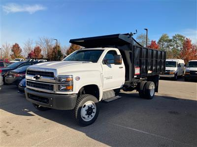2020 Silverado Medium Duty Regular Cab DRW 4x4,  Reading Landscaper SL Landscape Dump #20C2338 - photo 3