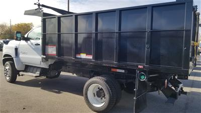 2020 Silverado Medium Duty Regular Cab DRW 4x4,  Reading Landscaper SL Landscape Dump #20C2338 - photo 7