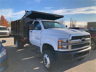 2020 Silverado Medium Duty Regular Cab DRW 4x4,  Reading Landscaper SL Landscape Dump #20C2338 - photo 8