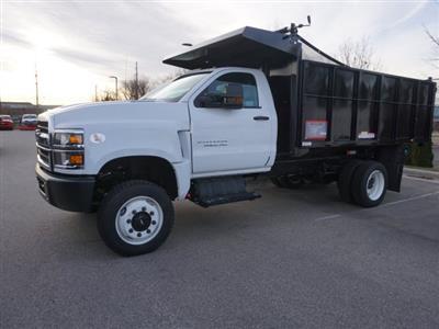 2020 Silverado Medium Duty Regular Cab DRW 4x4,  Reading Landscaper SL Landscape Dump #20C2338 - photo 11