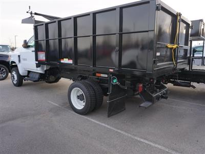 2020 Silverado Medium Duty Regular Cab DRW 4x4,  Reading Landscaper SL Landscape Dump #20C2338 - photo 2
